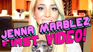 Jenna Marbles First Video! | Youtubers First Videos Ever | Youtubers First Time