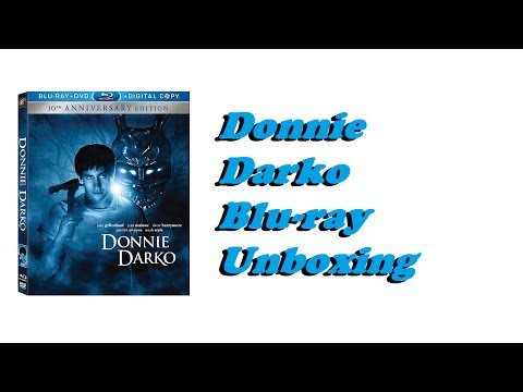 Donnie Darko Blu-ray Unboxing