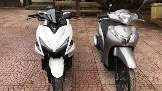 Honda SH Mode 2017 125cc vs Yamaha NVX 155cc ▶ So sánh xe tay ga hot nhất hiện nay!