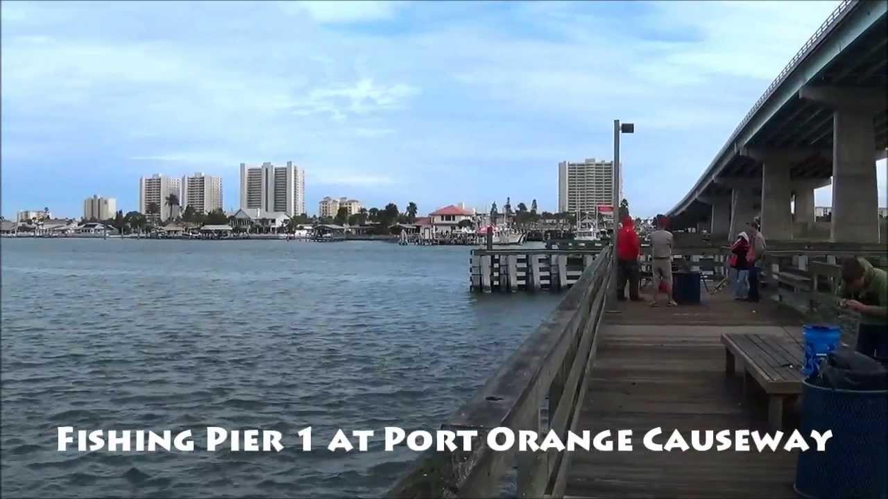 Port orange causeway fishing piers fishing alley for Fishing piers near me
