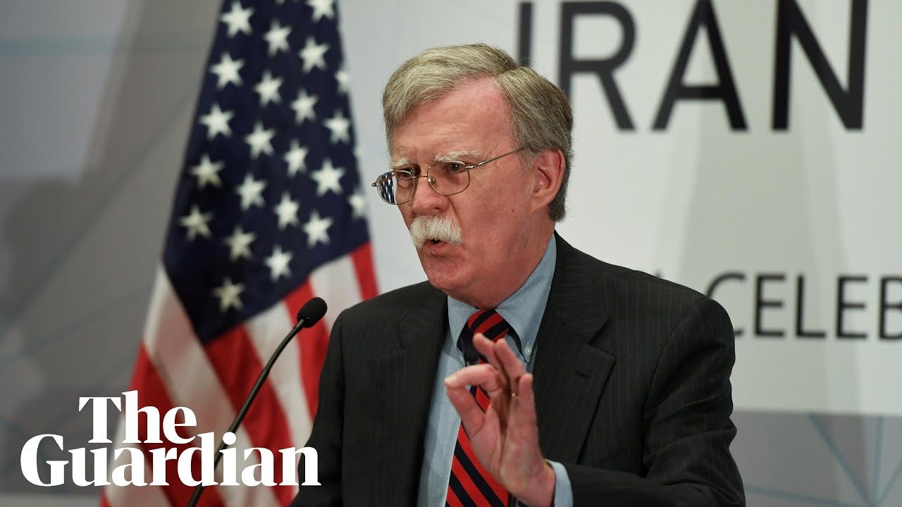 'There will be hell to pay': John Bolton issues warning to Iran's clerics
