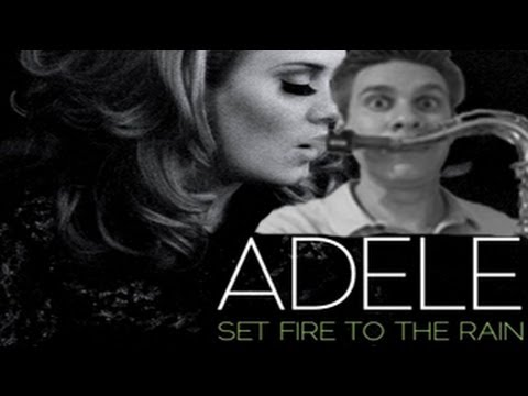 Adele - Alto Saxophone - Set Fire to the Rain - BriansThing