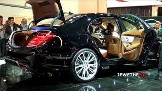 The AMAZING Brabus 850 6.0 Biturbo iBusiness S-Class - IAA Frankfurt 2013 (1080p Full HD)