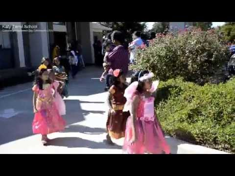 Katy Tamil School Fall Season Costume Festival 2014 video