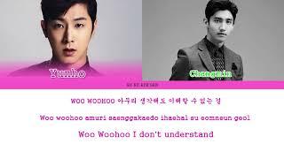 TVXQ! (동방신기) – Love Line (평행선) Lyrics (Color Coded Lyrics_Ham_Rom_Eng)