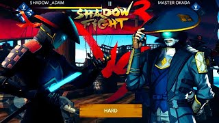 Shadow Fight 3 Chapter 5 Part 1 : Boss Fight | Defeat Master Okada Easily | Legendary Demon Ward