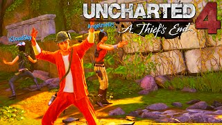 Uncharted 4: New DLC Map, Dance Battle, and Duck Hunt! ( Funny Moments #2)