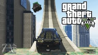 GTA 5 - James Bond Race - (GTA 5 Custom Races & Funny Moments!)