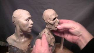 Sculptor David Lemon - Commission - Re-doing the Indian Male