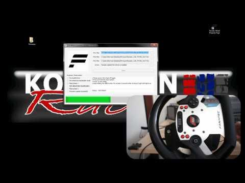Fanatec: Firmware update