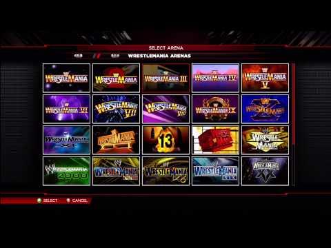WWE 2K14 ALL Hidden Arena's Unlocked