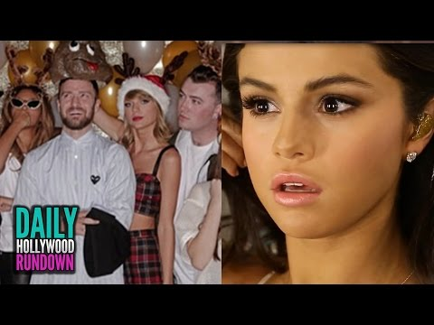 Taylor Swift Parties W/ Beyonce & JayZ For 25th Birthday - Selena's Emotional AMAs Video Diary (DHR)