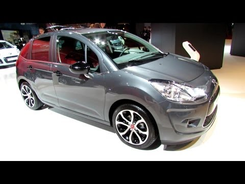 2013 Citroen C3 - Exterior and Interior Walkaround - 2012 Paris Auto Show - Mondial de l Automobile
