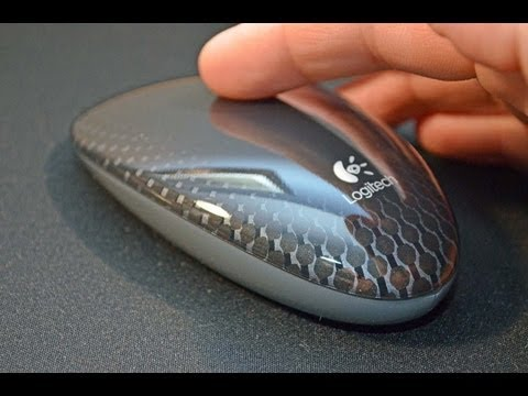 Logitech Touch Mouse M600: Unboxing & Review