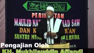Ceramah Lucu   KH  Mukhlisuddin Affandi Kesugihan Cilacap