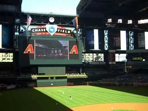 Chase Field Roof Opens.wmv