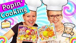 POPIN COOKIN Asia DIY Candy Set testen mit Eva & Kathi | Süßigkeiten aus Japan selber machen deutsch