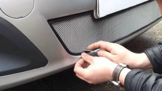 Видео: Установка защиты радиатора Lada Largus серебро