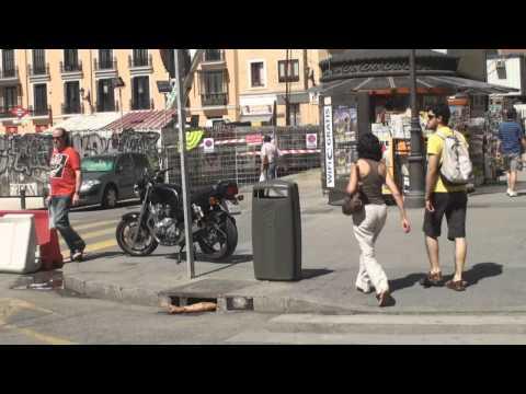 Excelente publicidad de Resident Evil en Madrid