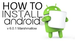 Install 6.0.1 MARSHMALLOW on all Android One!