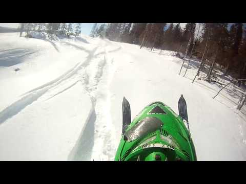 ARCTIC CAT M7 AND M8 HILLCLIMBING SPRING 2013