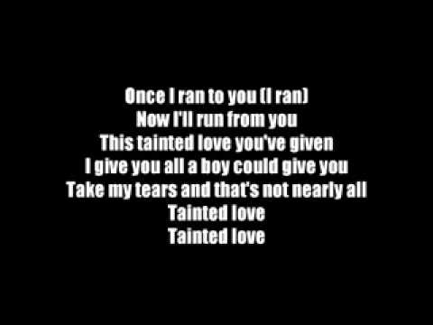 Tainted Love-Marilyn Manson Lyrics
