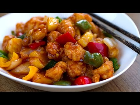 Cocino Asia: Pollo Agridulce - Cocina Asiática (China)