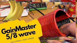 CB Radio Homebrew Gainmaster 5/8 wave Antenna, on a DX Commander Pole - Lockdown activities Part 5