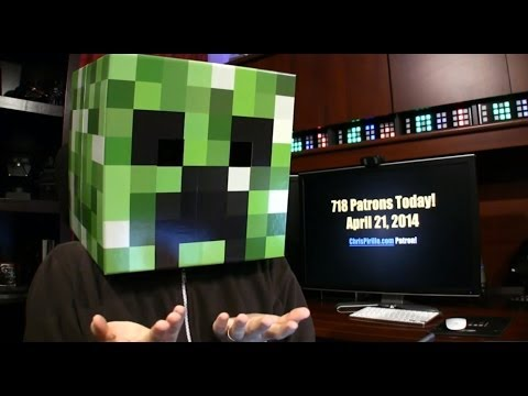 TLDR: It's Minecraft Creeper Week!