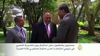 مصر ترفض مناقشة قضية احتجاز صحفيي الجزيرة بنيروبي
