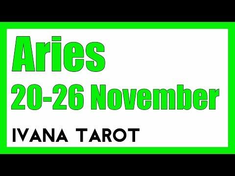 💘 TAKE IT EASY HONEY Aries Weekly Reading 20 - 26 November - Ivana Tarot