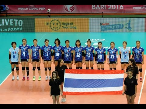 The best action of Thailand : Fivb World Grand Prix 2016 Group 2