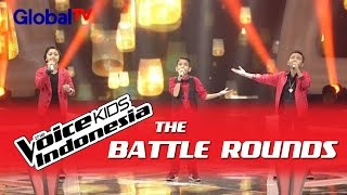 Vavel Vs Era Vs Reynard 34 Bila Rasaku Rasamu 34 I The Battle Rounds I The Voice Kids Indonesia 2016