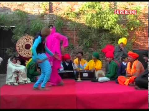 Haryanvi Saang Raja Harish Chander Song Mere Nazar Lagi Kise Randwe Ki video