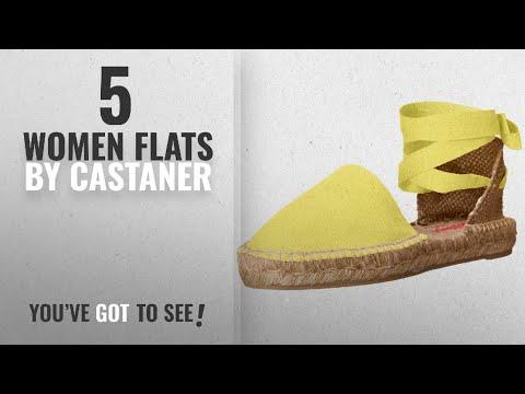 Top 5 Castaner Women Flats [2018]: Castaner Women's kann Flat, Amarillo, 36 EU/6 D US