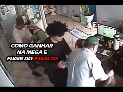 COMO SER ASSALTADO E GANHAR NA MEGA - Semana Top Top