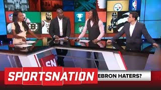 SportsNation crew gets into heated debate over LeBron James