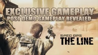 Spec Ops_ The Line - Exclusive gameplay, post demo revealed