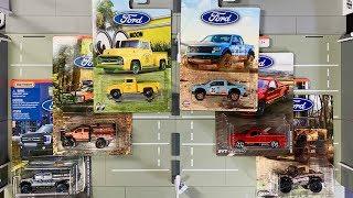 Lamley Showcase: Matchbox Ford Trucks Walmart Exclusive