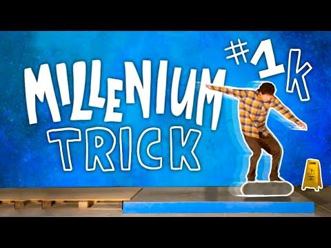 Millenium Trick   Tre Double Flip Primoslide Video NR. 1000