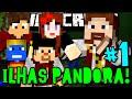 ILHAS PANDORA - VAMOS DESTRUIR TUDOOO!! - #1 - Minecraft