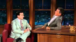 Steve Carell and Craig Ferguson Awkward Pause