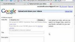 How To Create An Google Video Account And Upload Your First.