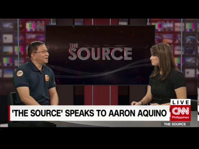 'The Source' speaks to PDEA Gen. Aaron Aquino