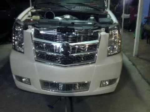 02 Silverado Conversion Front End 2 A Escalade Platinum