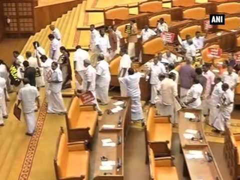 Solar scam: Opposition stages walkout from Kerala Assembly