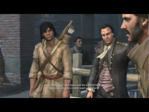 Assassin's Creed 3 Walkthrough with Commentary HD Part 21 -Tunnels Are For Squares- Sequence 5