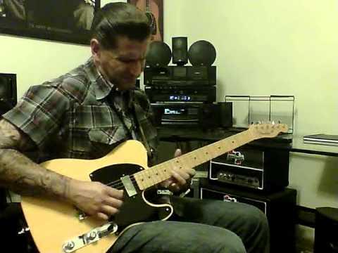 Rockabilly guitar playing II