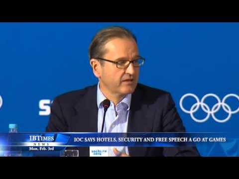IOC Says Hotels, Security and Free Speech a Go at Games