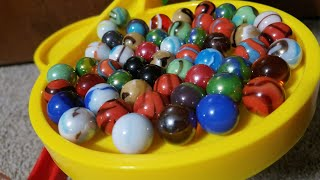 Dropping 136 Marbles Down A Marble Run Marble Race!
